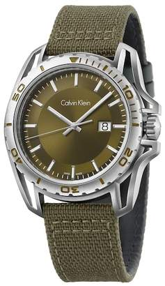 Calvin Klein Men's Earth Casual Watch, 44.2mm