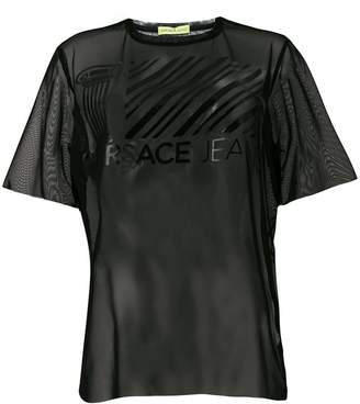 Versace sheer T-shirt