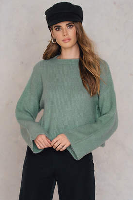 NA-KD Na Kd Short Brush Sweater