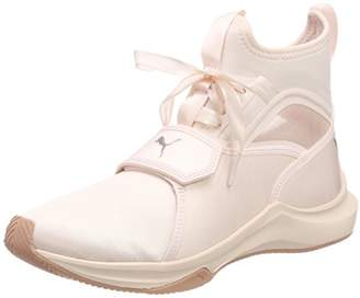 Puma Women's Phenom Satin EP WN's Fitness Shoes, Pearl