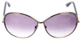 Tom Ford Iris Oversize Sunglasses