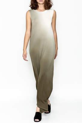 Hem & Thread Ombre Maxi Dress