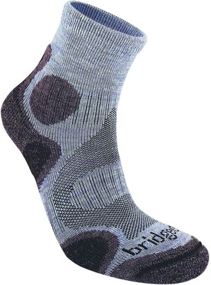 Bridgedale Trail Sport Lightweight T2 Merino Cool Comfort 3/4 Crew Sock - Women's