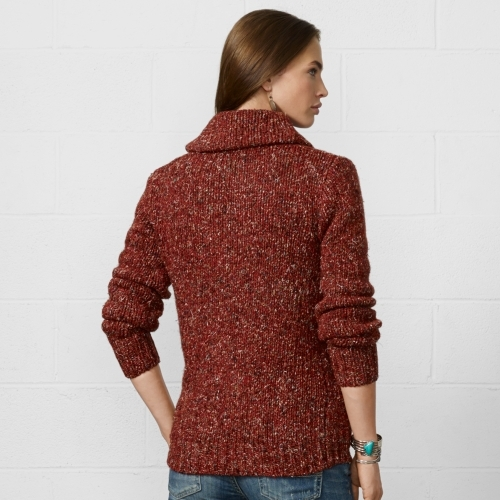Denim & Supply Ralph Lauren Wool-Silk Shawl Cardigan