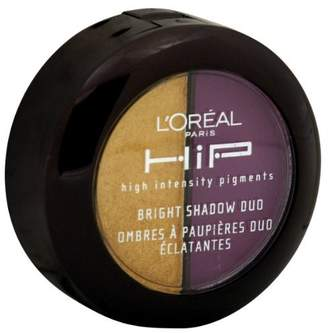 L'Oreal USA HiP High Intensity Pigments Bright Shadow Duo, 538