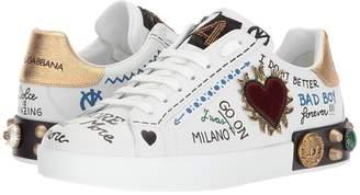 Dolce & Gabbana Gothic Heart Sneaker