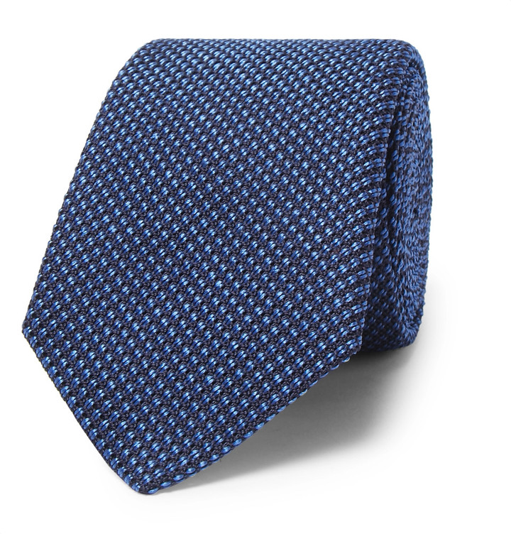 CanaliCanali 8cm Woven Silk Tie