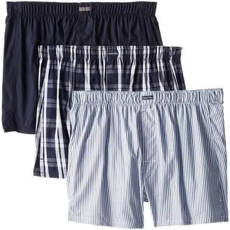 Calvin Klein Underwear 3-Pack Woven Boxers U1732 Men's Underwear