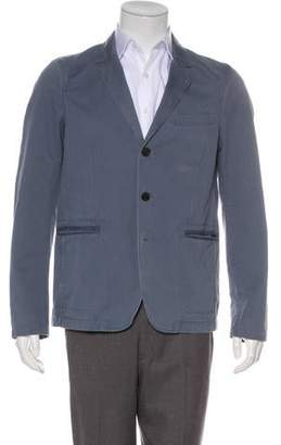 Burberry Deconstructed Notch-Lapel Blazer
