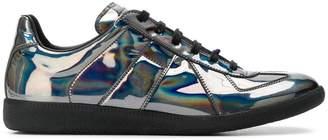 Maison Margiela reflective low-top sneakers