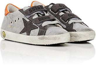 Golden Goose Old School Low-Top Sneakers $240 thestylecure.com