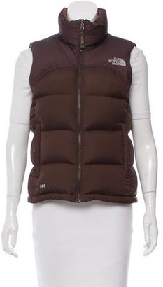 The North Face Quilted Puffer Vest $85 thestylecure.com