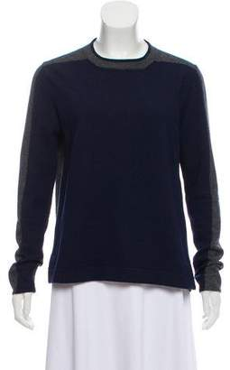 D-Exterior D. Exterior Long Sleeve Crew Neck Sweater