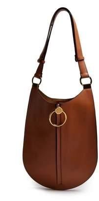 Marni Earring Medium Leather Bag - Womens - Tan