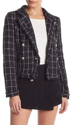 Do & Be Do + Be Tweed Blazer Jacket