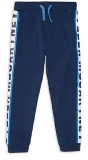 Stella McCartney Little Boy's& Boy's Logo Sport Sweatpants