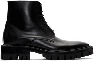 Balenciaga Black Outdoor Rim Boots