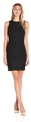 Lark & Ro Women's Eyelet Sleeveless A-Line Dress