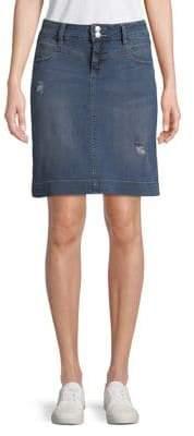 Jag Faded Denim Skirt