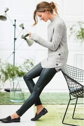 Next Womens Grey Curve Hem Tunic