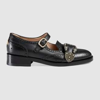 Gucci Queercore brogue shoe
