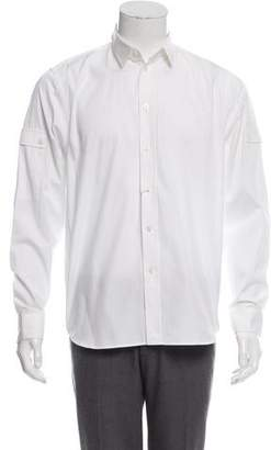 Givenchy Woven Button-Up Shirt w/ Tags