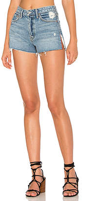 GRLFRND Cindy High-Rise Shorts.