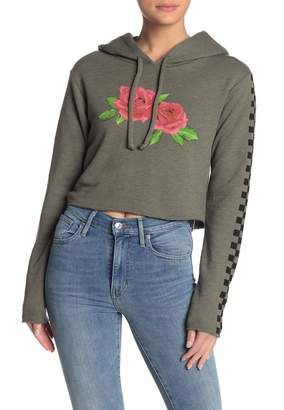 Wildfox Couture Checkered Rose Ivy Hoodie