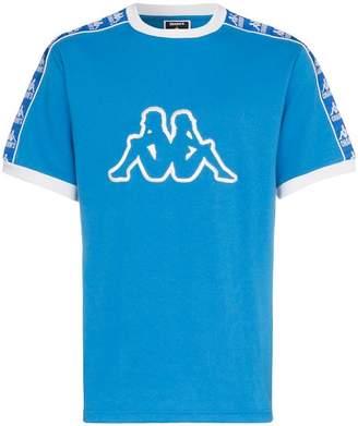 Charm's X Kappa logo crew neck t shirt