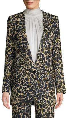 Smythe Leopard Camo Blazer