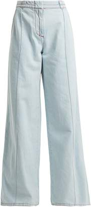 Marni High-rise flared denim jeans