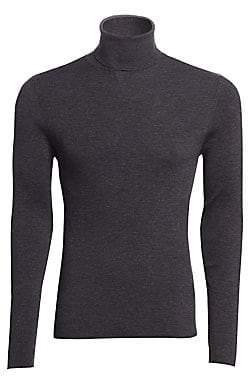 Ralph Lauren Purple Label Men's RLX Wool Ribbed Knit Turtleneck
