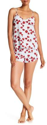 Equipment Alexy Print Silk Pajama 2-Piece Set