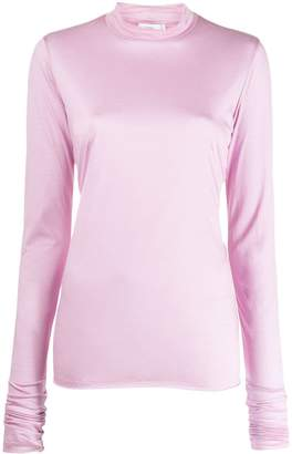 Closed turtleneck top