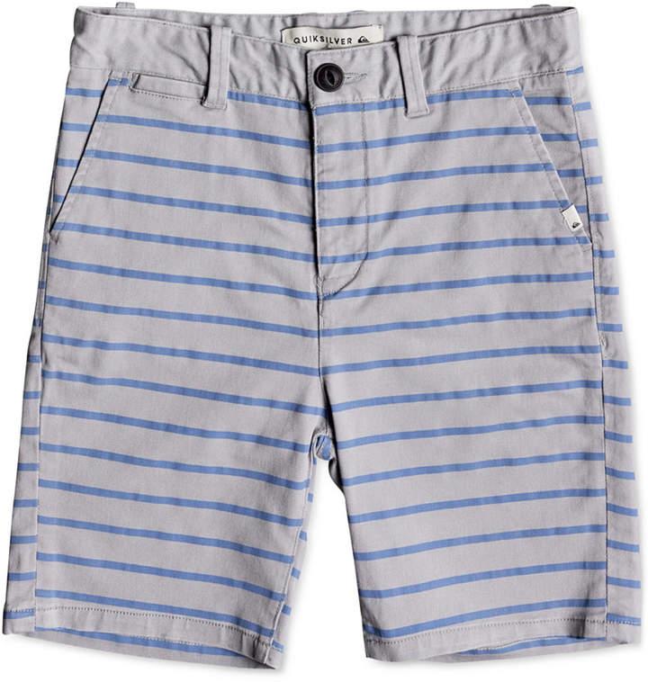 Waiku Plain Striped Shorts, Toddler Boys