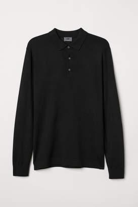 H&M Merino Wool Sweater - Black
