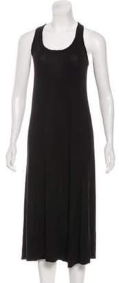 A.L.C. Sleeveless Midi Dress Black Sleeveless Midi Dress