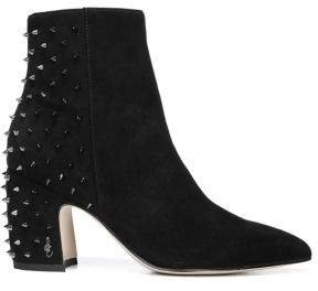 Sam Edelman Heath Suede Stud Booties