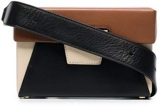 BEIGE Yuzefi brown and Lola leather belt bag