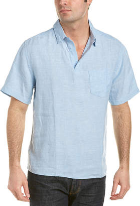 Trunks Surf & Swim Co. Island Linen Popover Shirt