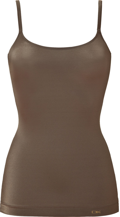 Donna Karan Intimates Olive DK Luxe Little Luxuries Toning Cami