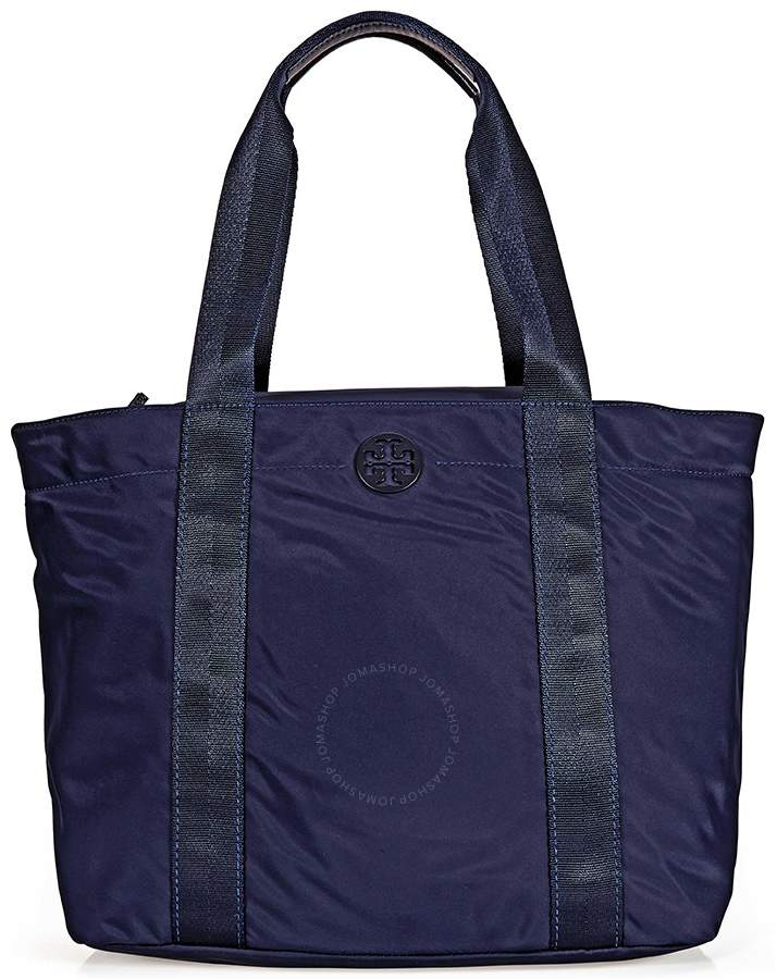 Tory Burch Tory Quinn Large Tote - Navy - ONE COLOR - STYLE
