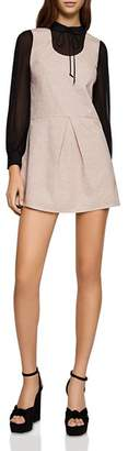 BCBGeneration Layered-Look Drop-Waist Dress
