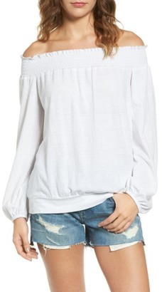 Women's Pam & Gela Off The Shoulder Tee $95 thestylecure.com