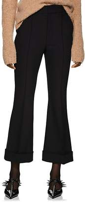 Helmut Lang Women's Crop Flared Trousers