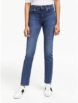 7 For All Mankind B(air) Straight Leg Jeans, Vintage Dusk