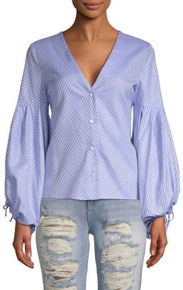 Alexis Women's Kaia Button-Front Blouse