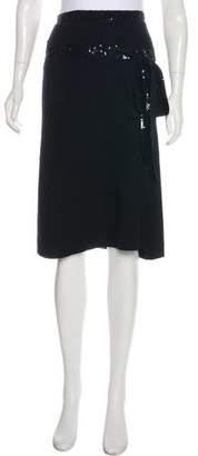 TSE Sequined Cashmere Skirt