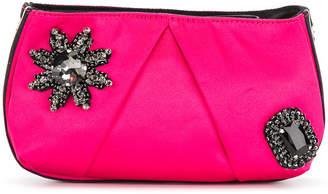 Pinko embellished clutch