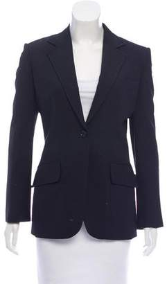 Dolce & Gabbana Long Sleeve Notch-Lapel Blazer